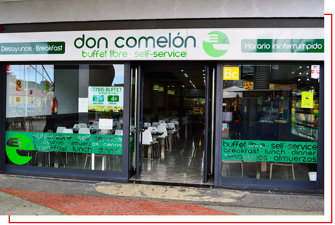 don comelon entrada linea